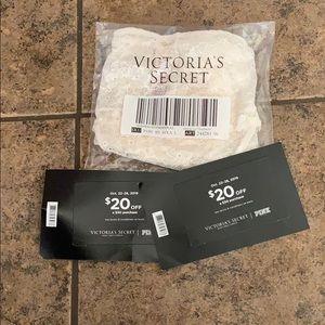 Brand new Victoria's Secret undies & Reward cards